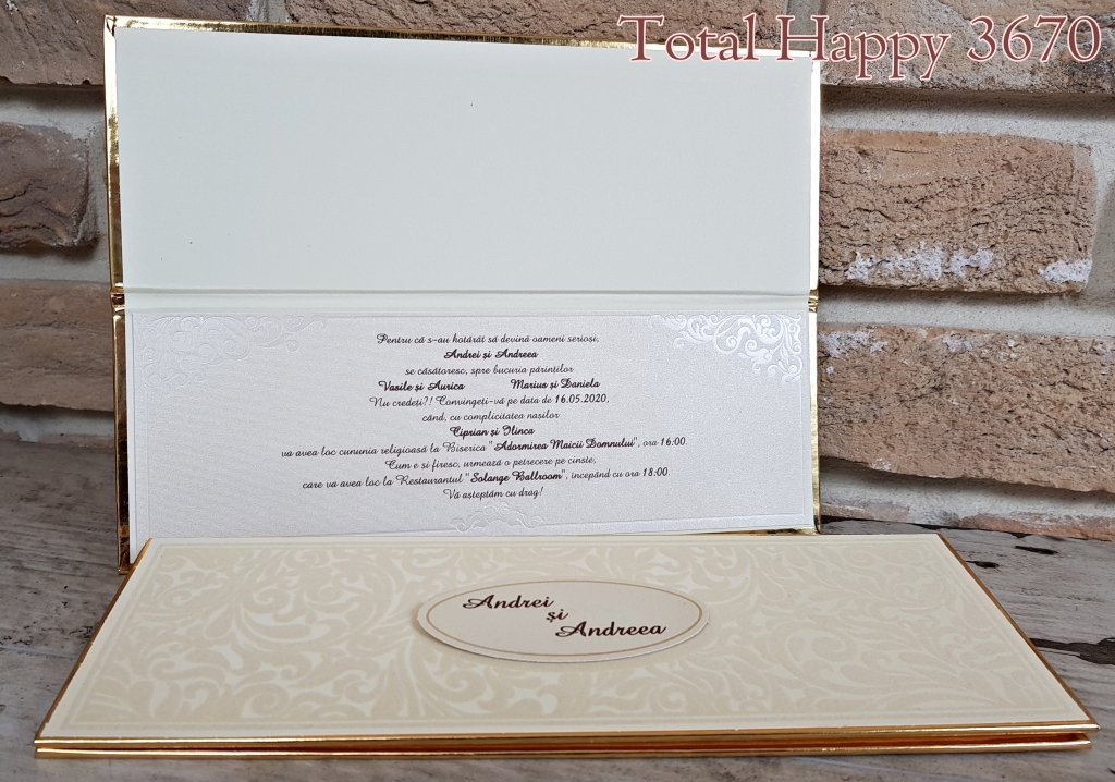 Invitatii Nunta Catalog Sedef 2018 Invitatii Nunta Personalizate