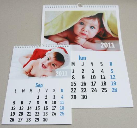 calendar 2016 modele calendare 2016 personalizate calendar triptic
