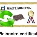 certificat digital calificat reinnoire