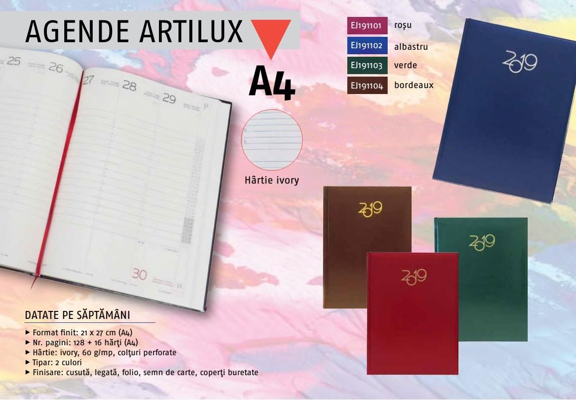 agende personalizate 2019, agende artilux a4, agende personalizate Craiova, agende personalizate Sibiu