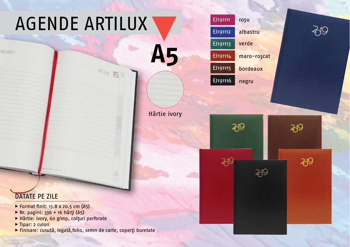 agende personalizate 2019 - agende 5 personalizate artilux - agende personalizate Cluj - agende personalizate Suceava